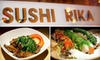 Sushi Rika - CLOSED - Downtown: $20 for $40 Worth of Japanese Fare at Sushi Rika