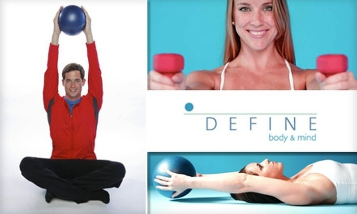 DEFINE - Great Uptown: $25 for Three Fitness Classes at DEFINE ($60 Value)