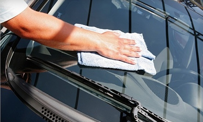 Haddad Auto Detail - Multiple Locations: Full-Service Detail Treatment or a Complete Interior & Exterior Window Cleaning w/Rain-X Exterior Glass Treatment at Haddad Auto Detail