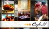 Café 28 - Lakeview: $20 for $40 Worth of Cuban and Mexican Cuisine, Mojitos, and More at Café 28