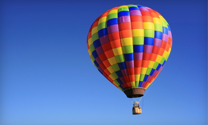 Balloon Rides Online - Multiple Locations: $112 for One-Hour Hot Air Balloon Experience from Balloon Rides Online ($225 Value)