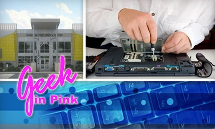 Geek in Pink - Multiple Locations: $20 for a Computer Tune-Up at Geek in Pink ($65 Value)