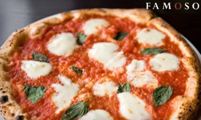 Famoso Neapolitan Pizzeria - Mission: $15 for $30 Worth of Fire-Roasted Pies and More at Famoso Neapolitan Pizzeria