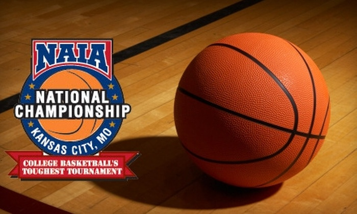 NAIA Divison I Men's Basketball National Championship - Central Business District - Downtown: $12 for Two General-Admission Tickets to the NAIA Division I Men's Basketball National Championship, March 16–22 ($24 Value)
