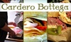 Cardero Bottega - West End: $9 for Two Made-to-Order Sandwiches from Cardero Bottega (Up to $18 Value)