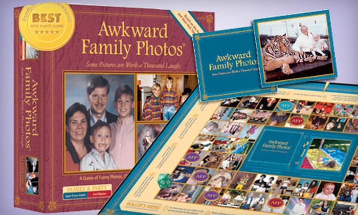 FamilyAndPartyGames.com: $13 for an Awkward Family Photos Board Game from FamilyAndPartyGames.com ($24.99 Value)