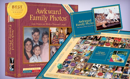Good for an Awkward Family Photos Board Game (a $25 Value) - FamilyAndPartyGames.com in