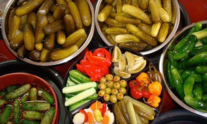The Pickle Guys - New York: $5 for $10 Worth of Pickled Fare at The Pickle Guys in Brooklyn