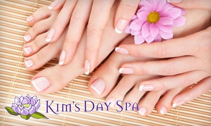 Kim's Day Spa - Buckhead Village: $25 for a Manicure and Signature Lotus Pedicure at Kim's Day Spa in Buckhead ($55 Value)
