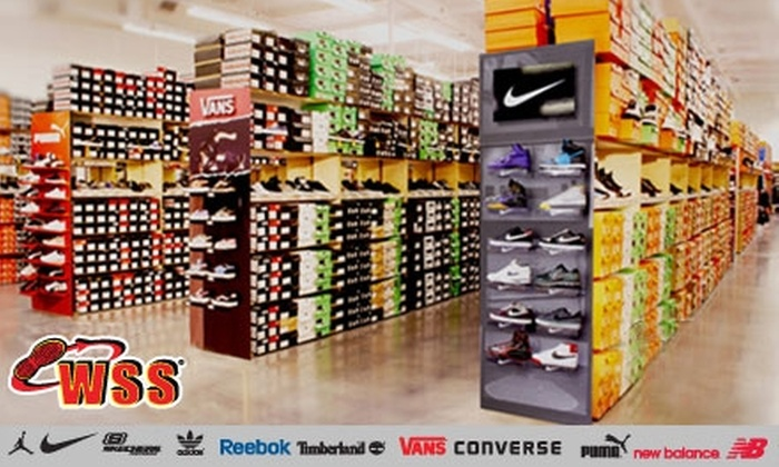 WSS - Multiple Locations: $15 for $30 Worth of Shoes, Apparel and Accessories at WSS