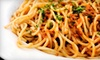 Mamma Lucia - Southeast Jacksonville: $30 for an Italian Dinner for Two with Entrees, House Salad, and House Wine at Mamma Lucia (Up to $63.70 Value)