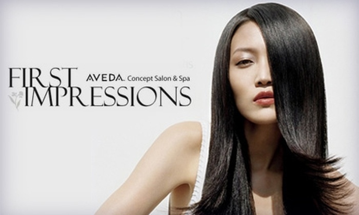 First Impressions Salon & Spa - Northcrest: $30 for $60 of Services at First Impressions Salon & Spa