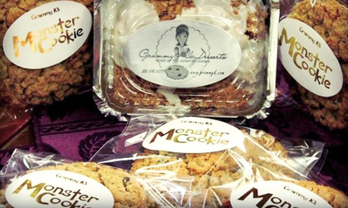 Grammy K's Desserts - New Smyrna Beach: $10 for a Dozen Cookies or Brownies ($20 Value) or $14 for a New York–Style Cheesecake ($29 Value) at Grammy K's in New Smyrna Beach
