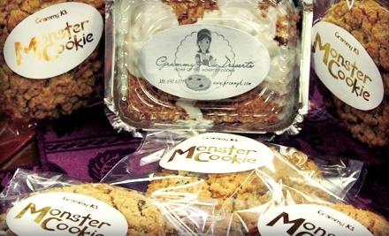 Grammy K's: 1 Dozen Gargantuan Cookies or Chocolaty Brownies  - Grammy K's Desserts in New Smyrna Beach