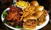 Red Rock Saloon - Downtown: Texas-Style Sampler Meal or a Four-Hour Party-Room Rental at Red Rock Saloon (Up to 75% Off)