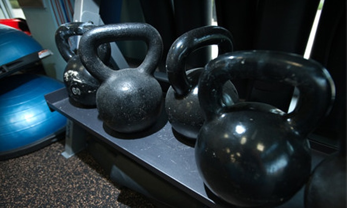 Arenal Fitness - Pikesville: 10 or 20 CrossFit and Kettlebell Classes Plus Four Basics Classes at Arenal Fitness (Up to 90% Off)