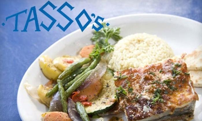 Tasso's - Kansas City: $12 for $25 Worth of Greek Cuisine at Tasso's