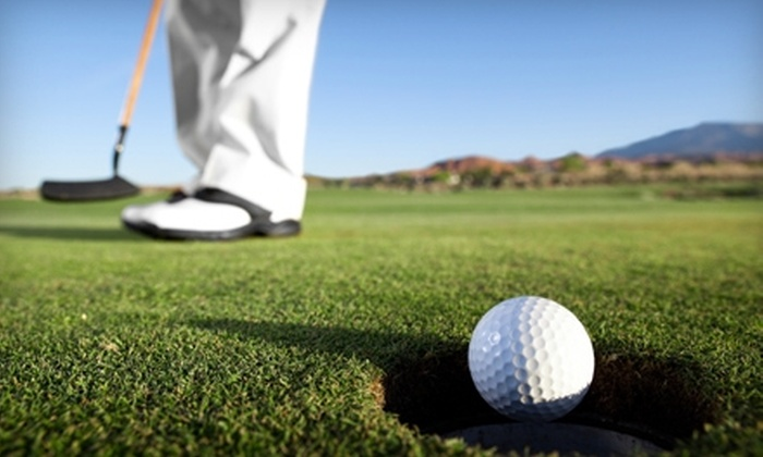 Hunter's Ridge Golf Course - Princeton: $32 for 18 Holes of Golf for Two and Cart Rental at Hunter's Ridge Golf Course in Princeton (Up to $74 Value)