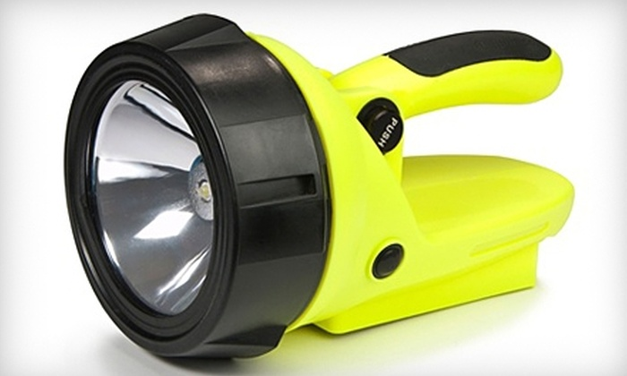 HybridLight: $30 for a Solar-Powered Spotlight from Hybrid Light ($59.95 Value)