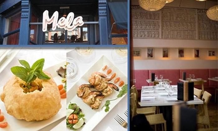 Mela - South End: $15 for $35 Worth of Indian Cuisine at Mela