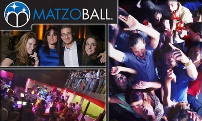 Matzo Ball - Flamingo / Lummus: $12 Ticket to the Matzo Ball at 1 of 3 Locations ($25 Value)