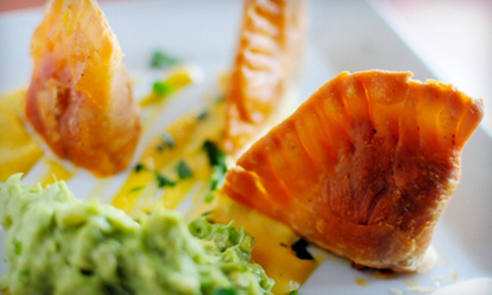 V-Note - New York City: $15 for $30 Worth of Vegan Dishes, Tapas, and Organic Wines at V-Note
