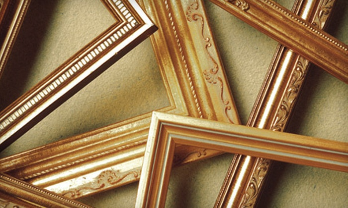 J. Reznik Studios - Midwood: Custom-Framing Services at J. Reznik Studios in Brooklyn (Up to 81% Off). Two Options Available.