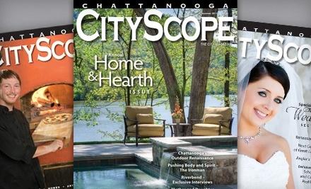 Chattanooga CityScope - Chattanooga CityScope in