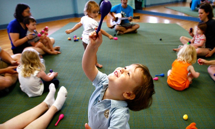 Music for Aardvarks and Other Mammals Memphis - Multiple Locations: $20 for Three Kids' Drop-In Music Classes at Music for Aardvarks and Other Mammals Memphis ($40 Value)
