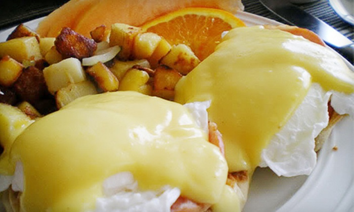 The Bluff Pub & Grille - Green Bay: $22 for Breakfast or Sandwich Meals for Up to Five People at The Bluff Pub & Grille (Up to $56 Value)