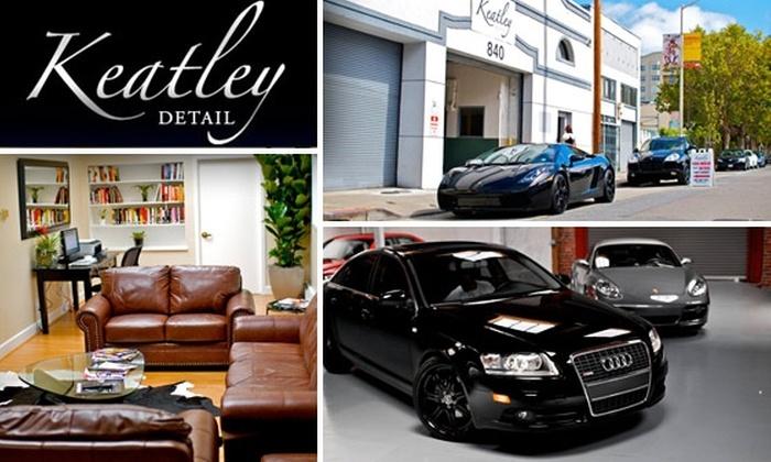 Keatley Detail - SoMa: Car Wash, Wax, and Light Interior Detailing at Keatley Detail