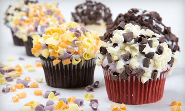 Importico's Bakery Café - Downtown District: One-Dozen Mini or Regular-Size Cupcakes at Importico's Bakery Café