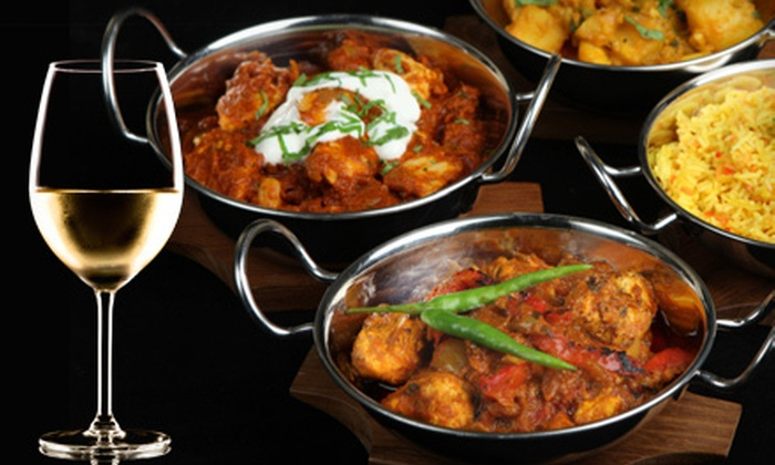 New Asian Village - Strathcona: Three- or Six-Course Indian Meal for Two or Three-Course Indian Meal for Four at New Asian Village (Up to 60% Off)
