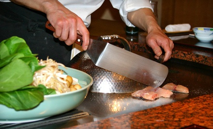 $40 Groupon Valid in April on SundayThursday  - Osaka Sushi and Hibachi Steakhouse in Coon Rapids