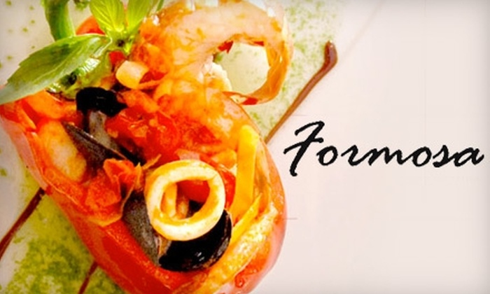 Formosa Asian Fusion - North Haven: $15 for $30 Worth of Asian Fusion Cuisine and Drinks at Formosa Asian Fusion Restaurant in North Haven