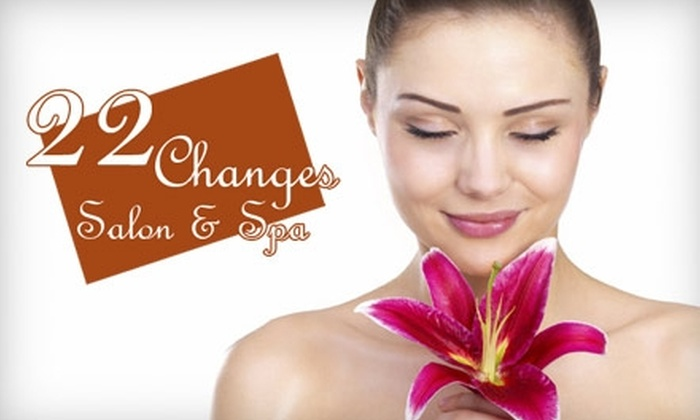 The Spa at 22 Changes - Fircrest: $35 for $70 Worth of Salon or Spa Services at The Spa at 22 Changes in Vancouver