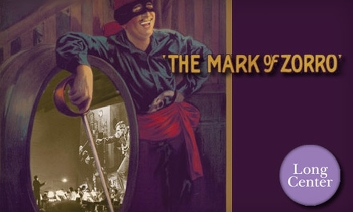 "The Long Center  - Bouldin: $17 for One Ticket to a Screening and Live Performance of the Original Score of ""The Mark of Zorro"" at The Long Center (Up to $39 Value)"