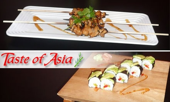 Taste of Asia - East Louisville: $8 for $16 Worth of Asian Cuisine and Bubble Tea at Taste of Asia