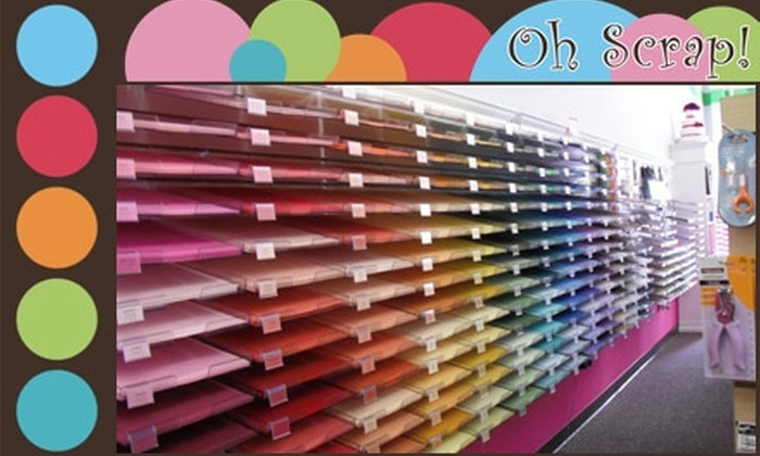 Oh Scrap! Paper Boutique - Yorkshire: $10 for $25 Worth of Stationery, Invitations, Gifts, and Scrapbooking Materials at Oh Scrap! Paper Boutique