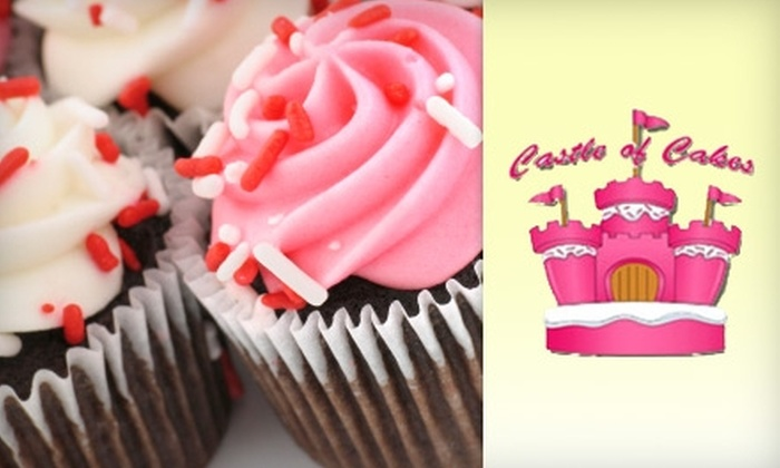 Castle of Cakes - Silverado Ranch: $20 for a Three-Hour Cupcake-Decorating Class at Castle of Cakes ($40 Value)