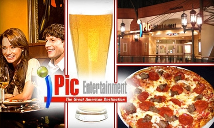 Ipic Entertainment - Glendale: $20 for Two Hours of Unlimited Pizza, Beer, Wine, and Soda at IPic Entertainment on Saturday, May 1