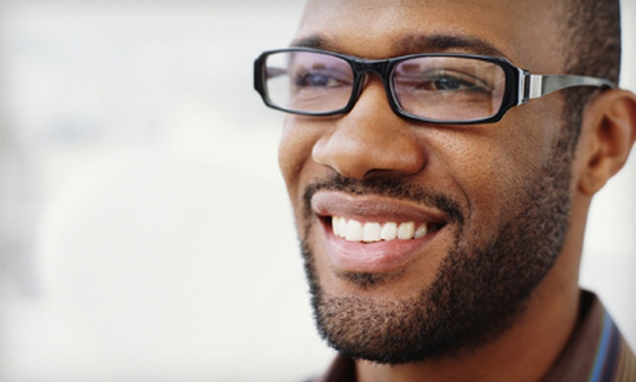 Eye Q Vision Center - Mayview: Routine Eye Exam and Credit Toward Standard or Premium Glasses at Eye Q Vision Center (Up to 78% Off)