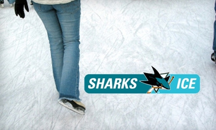 Sharks Ice - Multiple Locations: $6 for Ice Skating and Skate Rental at Sharks Ice (Up to $12 Value)