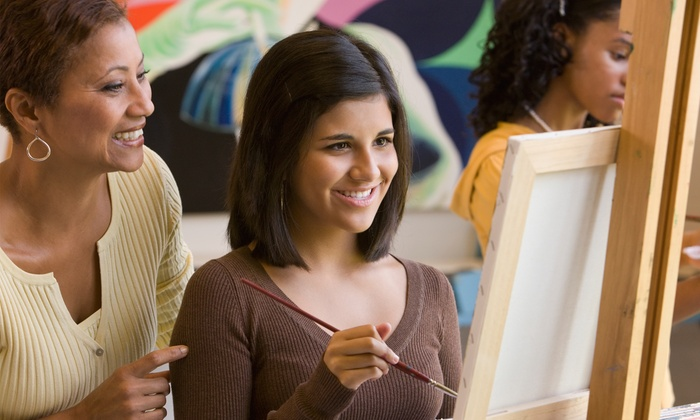 Art Splash - Windsor: Painting-Party Admission for One, Two, or Four at Art Splash (Up to 37% Off)