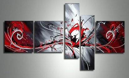 image for Paintings, Sculptures, and Wall Art from FabuArt.com (61% Off). Two Options Available.