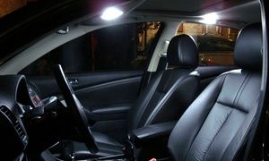 Lexen Tint Shop: Four or Six Dome LED Auto Lights with Installation at Lexen Tint Shop (Up to 53% Off)