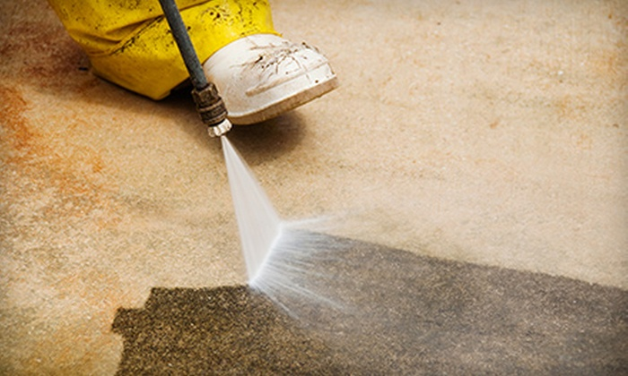 Superior Pressure Wash - San Jose: Pressure Washing for Up to 600 or 2,000 Square Feet from Superior Pressure Wash (Up to 63% Off)