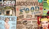"Up to 58% Off ""Jacksonville Magazine"" Subscription"