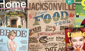 "Jacksonville Magazine: One- or Two-Year Subscription to ""Jacksonville Magazine"" (Up to 58% Off)"