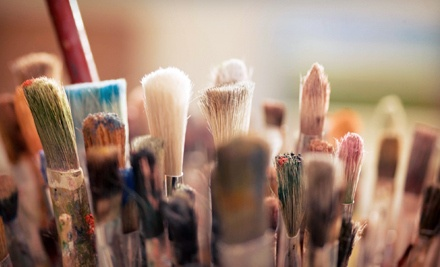 BYOB Painting Class for 2 - Quench Your Palette in Jensen Beach